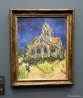 L'église d'Auvers-sur-Oise, Van Gogh, 1890