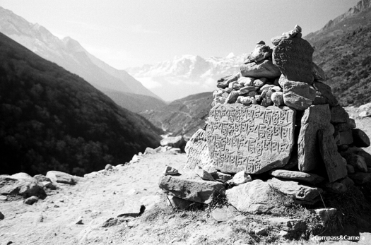 Mani Stone on the way to Namche