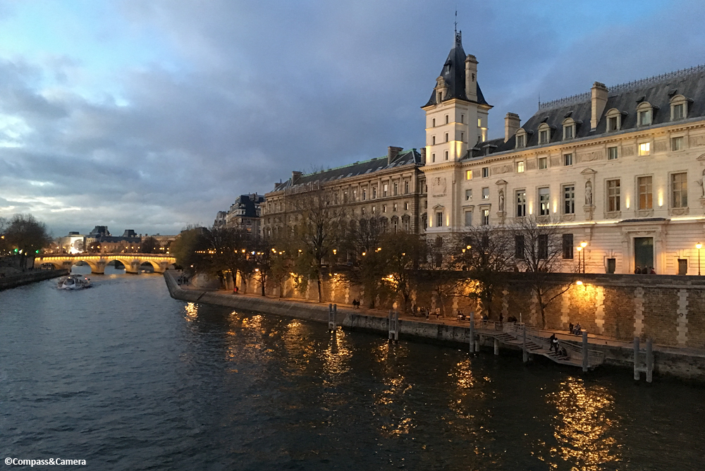 View from the Seine