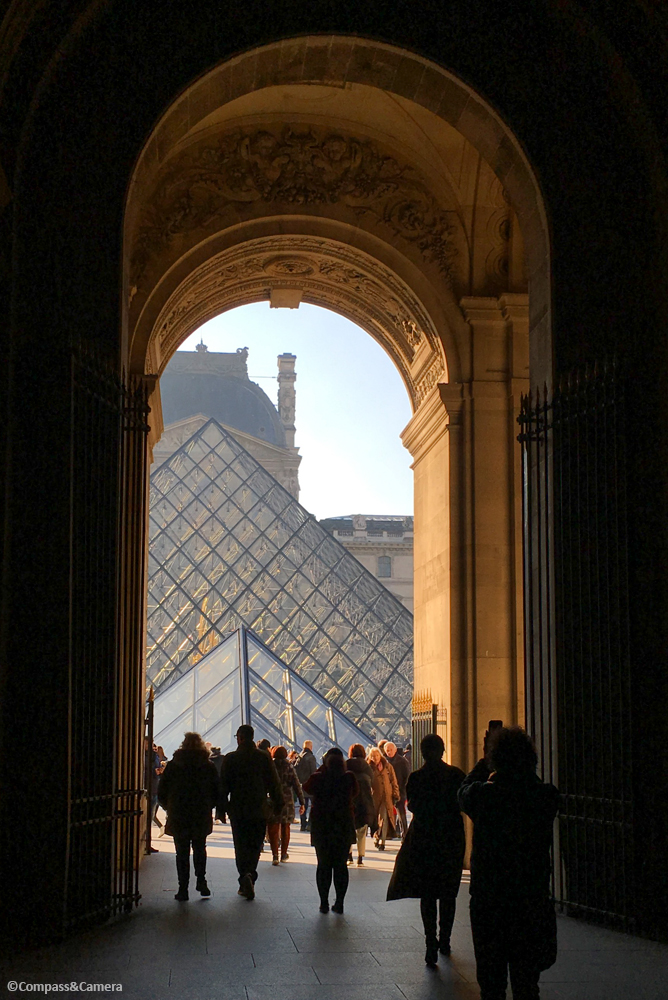 Light at the Louvre