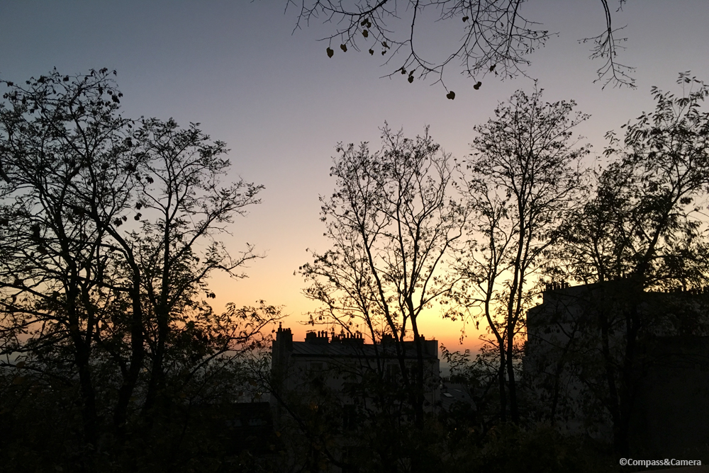 Sunset from Montmartre
