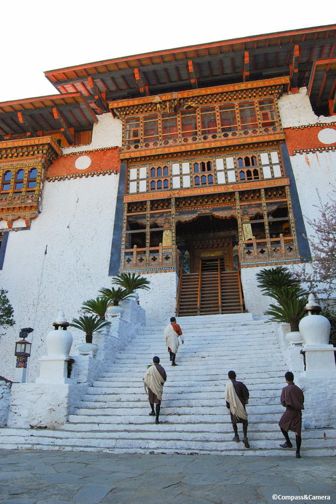 Entry to Punakha Dzong
