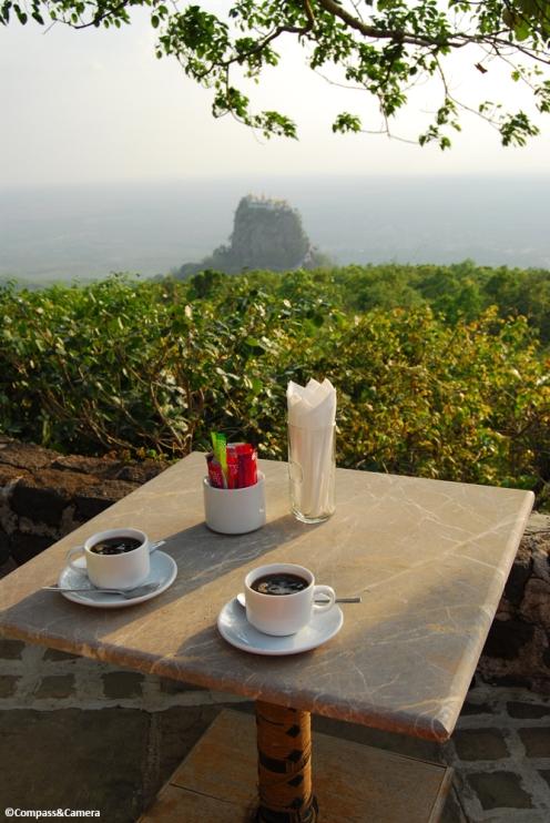 View to Taung Kalat Monastery