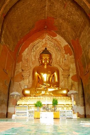 Seated Buddha, Shwezigon Pagoda