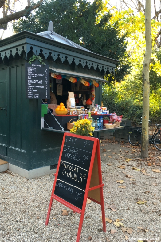 Snack Hut at Le Jardin du Luxembourg