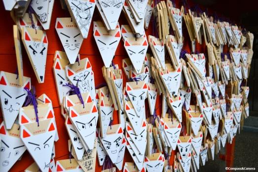 Ema, Fushimi Inari Shrine