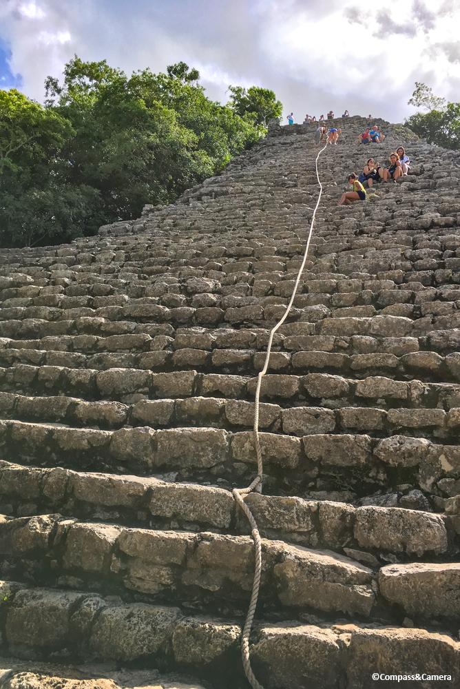Ixmoja Pyramid, Cobá