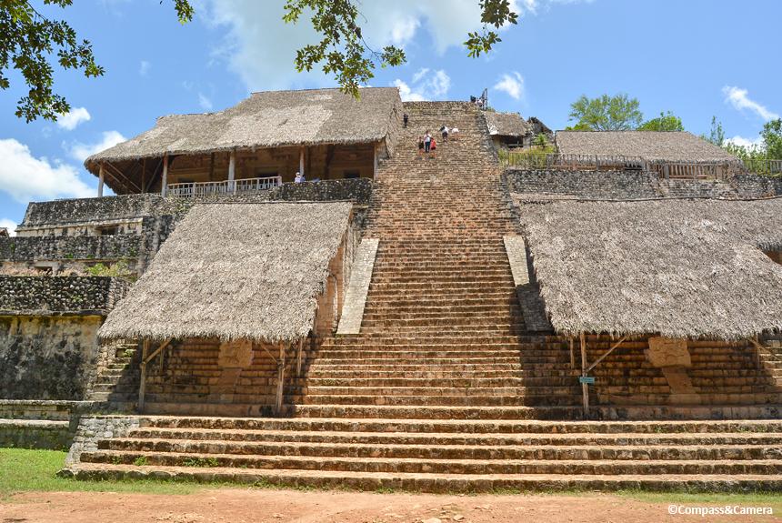 Acropolis at Ek Balam