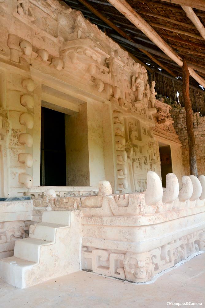 Stucco frieze of the acropolis