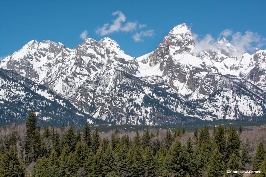 Grand Teton of the Teton Range
