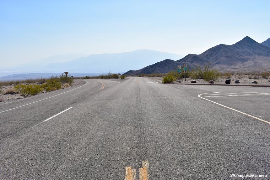 Road into Death Valley
