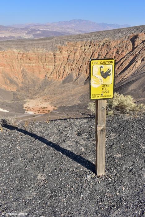 Use caution near the edge!