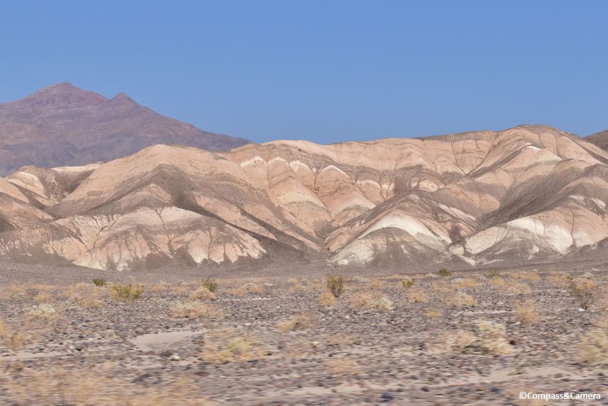 Landscape along Scotty's Castle Road
