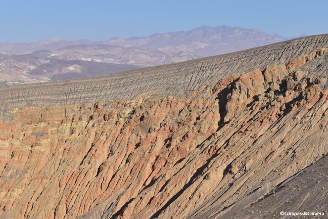 Geology of the crater rim