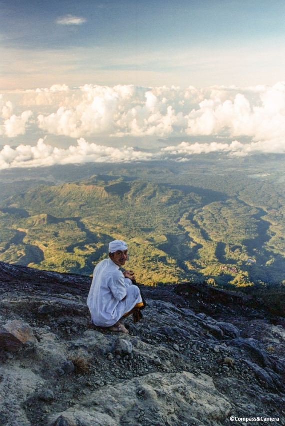 Fellow climber of the Sacred Mountain
