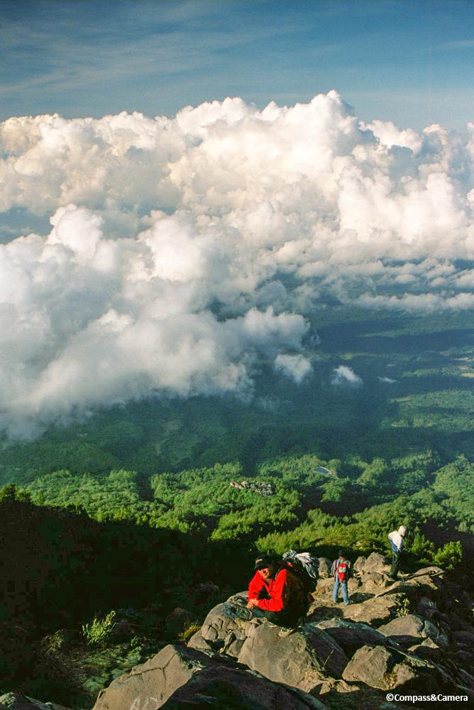 View from Gunung Agung