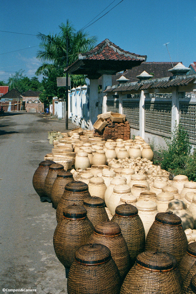 Lombok Basket Weaving
