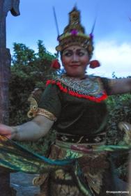 Kecak Dancer