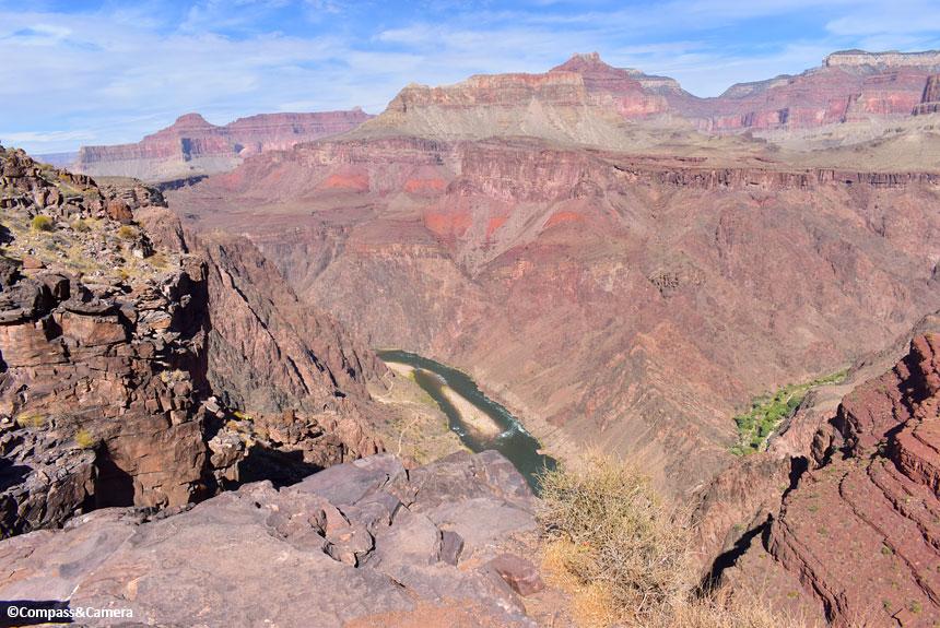 A little closer to the Colorado River
