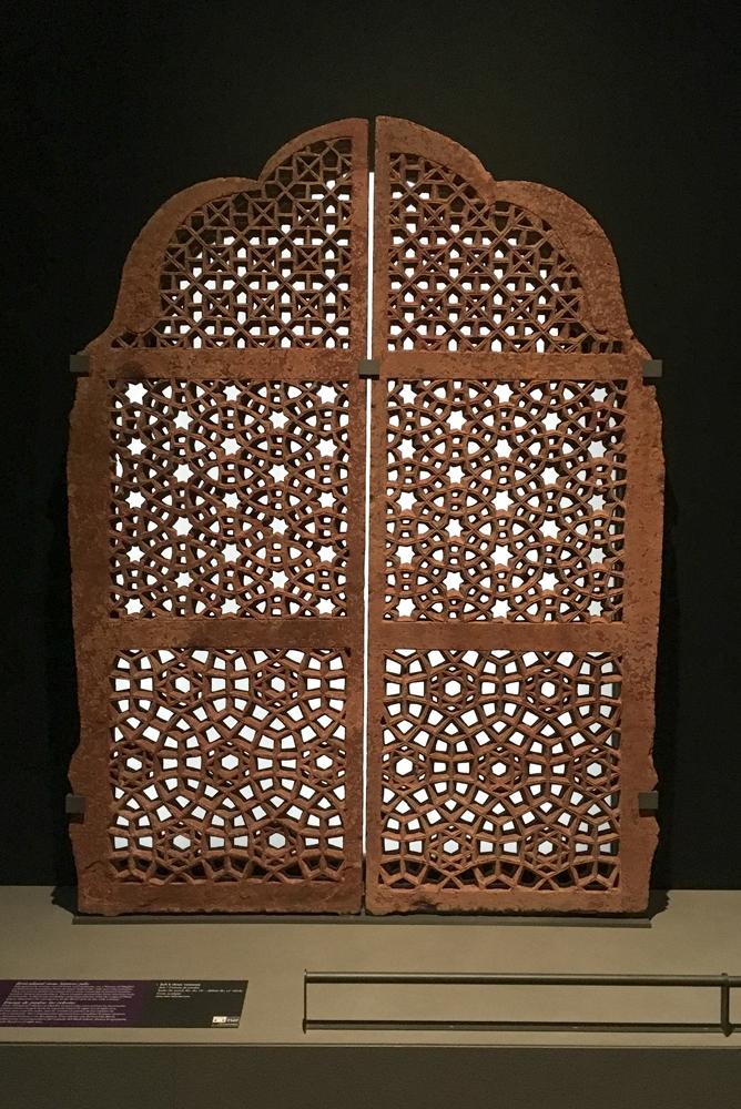 Islamic panel at the Louvre, Paris
