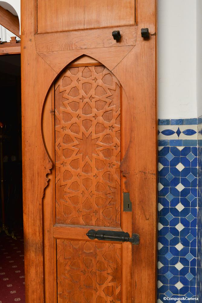 Five-fold design at Hotel El Minzah, Tangier