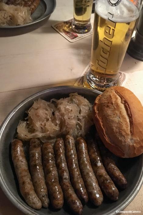 Nuremberger sausages