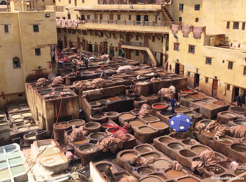 Chaouwara Tannery :: Fez, Morocco