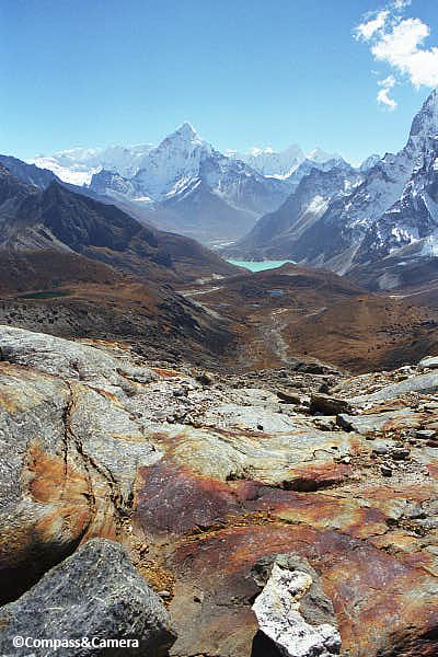 Ama Dablam from Cho La Pass :: October, 2000