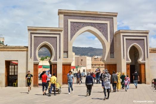 Gate to the Medina :: Fez, Morocco