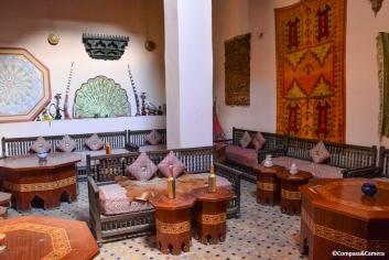 Tea and hookah lounge :: Fez, Morocco