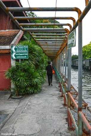 Along the Phanfa Bridge - Water Gate Canal