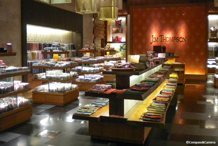Jim Thompson store, Bangkok
