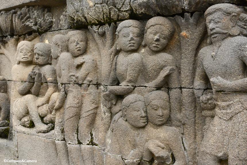 Faces of Borobudur