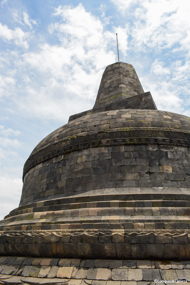 Borobudur's central stupa
