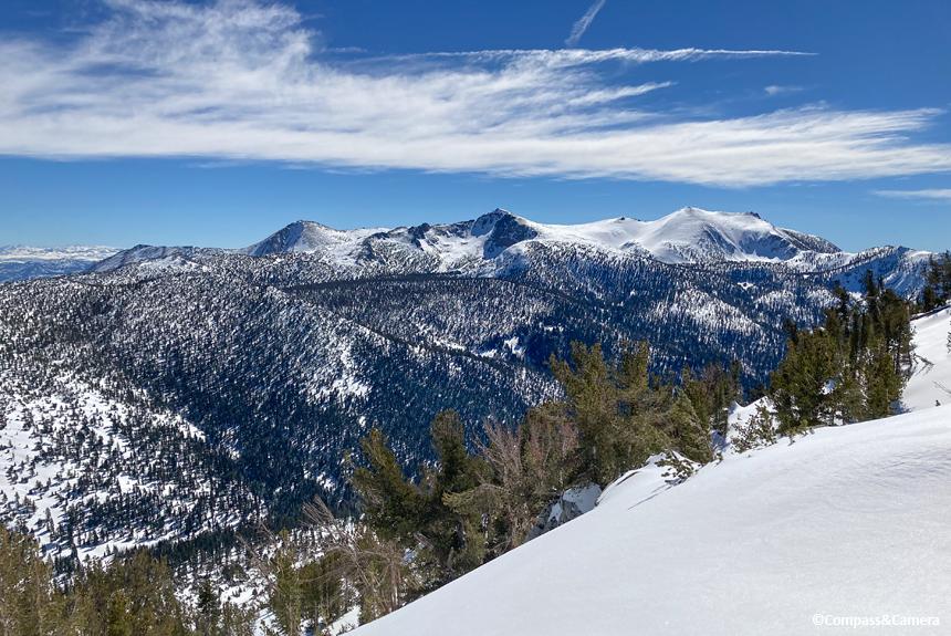 Looking south to Freel Peak