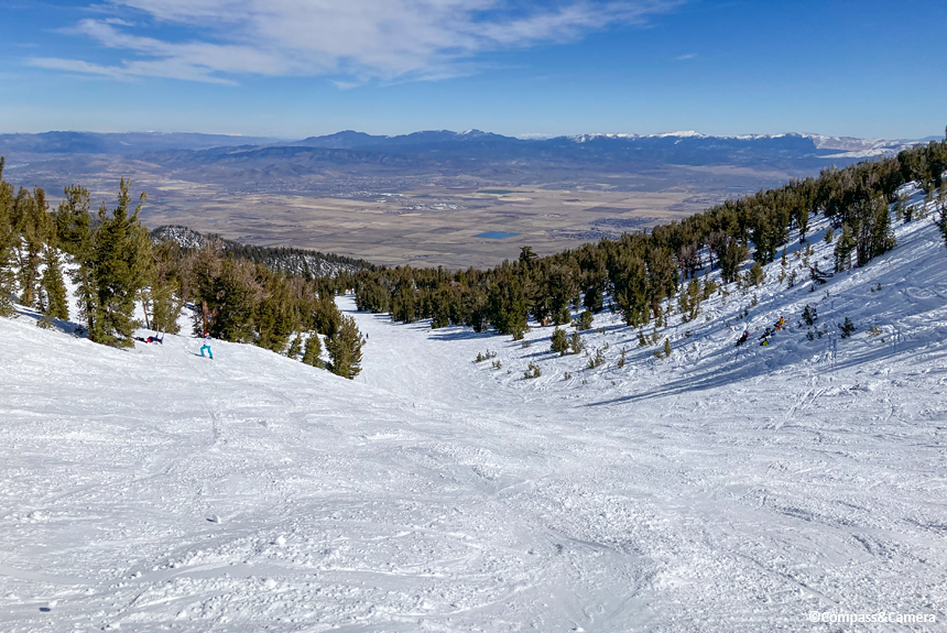 East view to Nevada