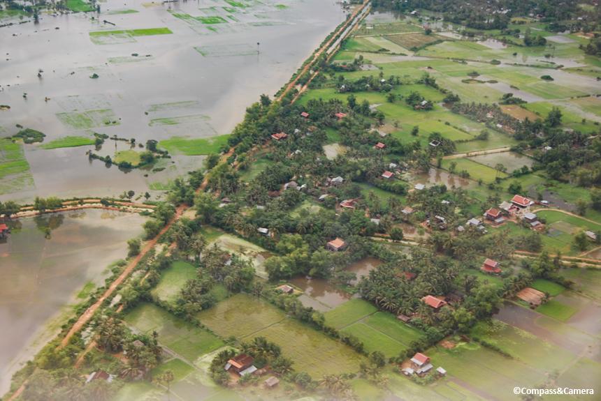 Siem Reap under water