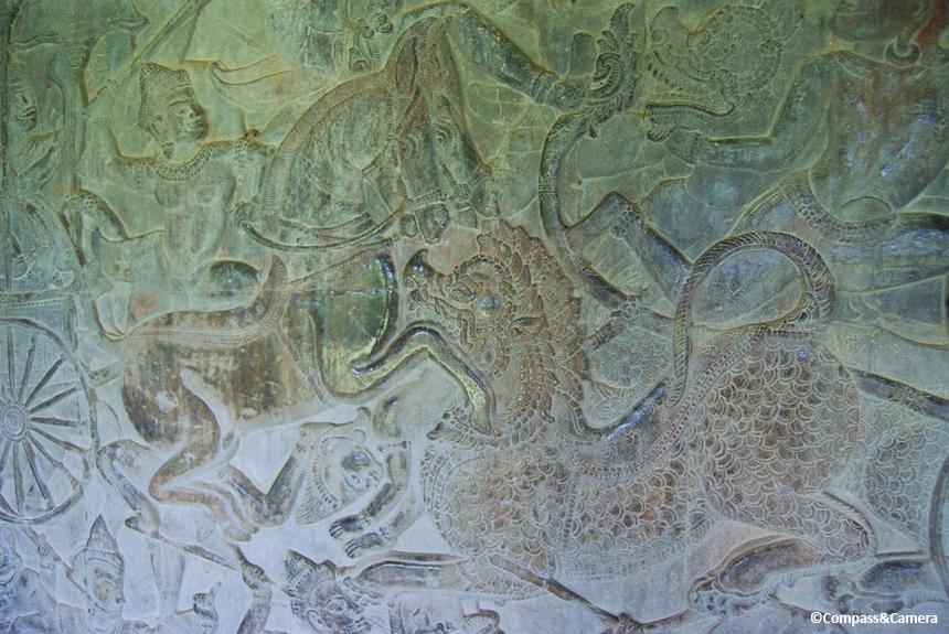 Angkor Wat bas-relief