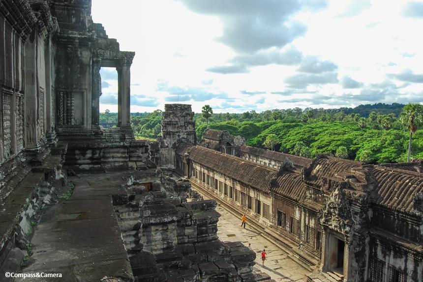 View from atop Angkor Wat