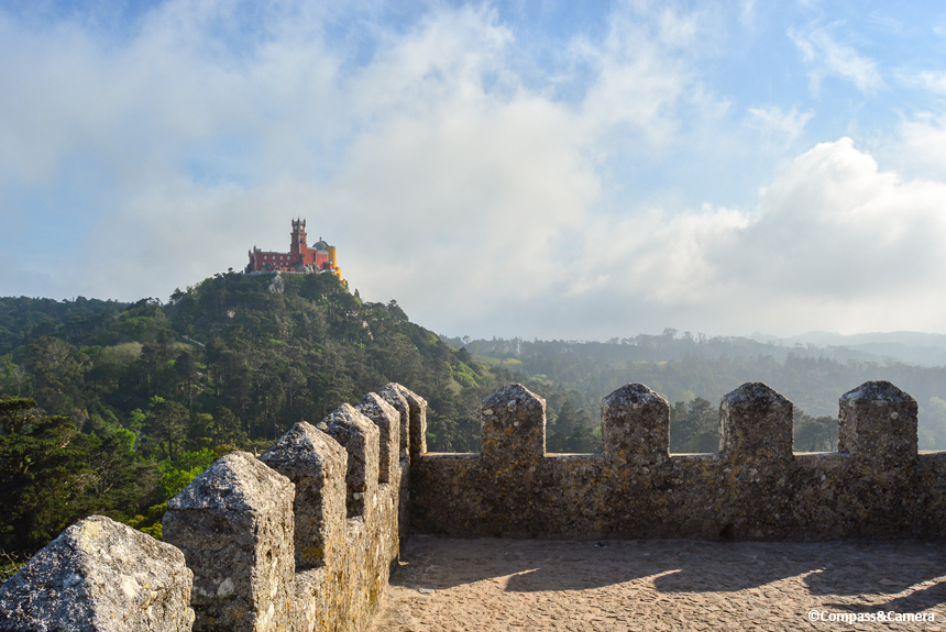 View of Pena Palace :: Sintra, Portugal