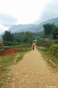 Sa Pa to Cat Cat Village, Vietnam