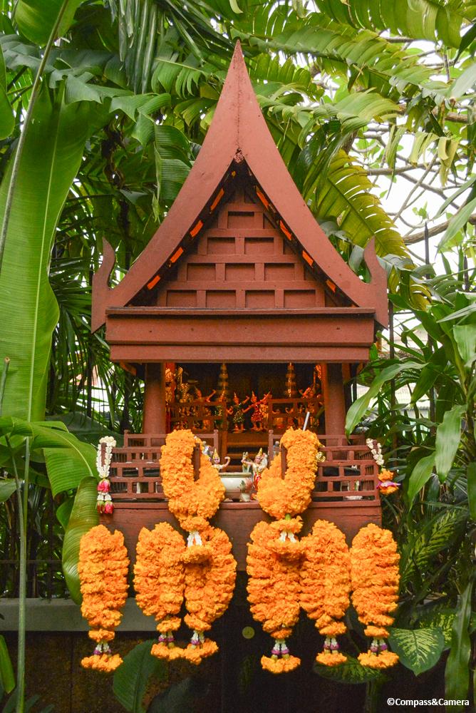 Spirit house at Jim Thompson House Museum, Bangkok