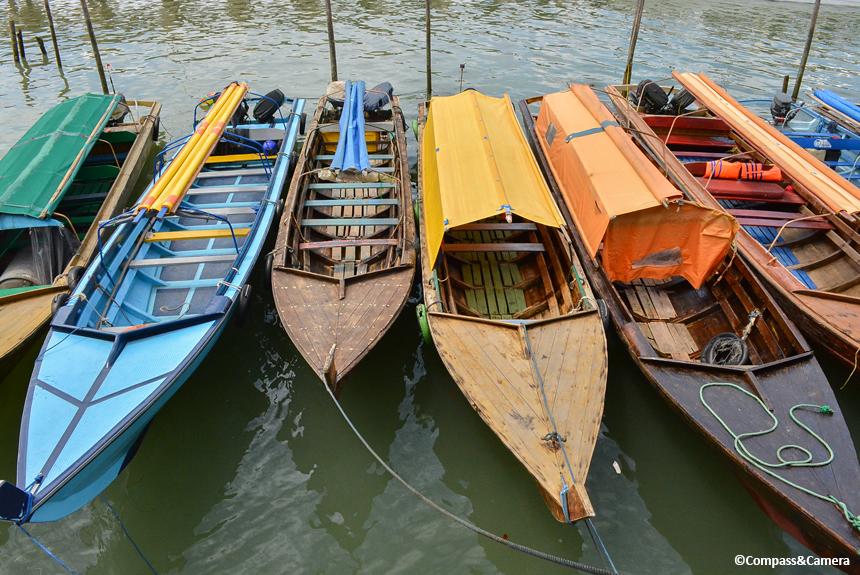 Boats at Batam