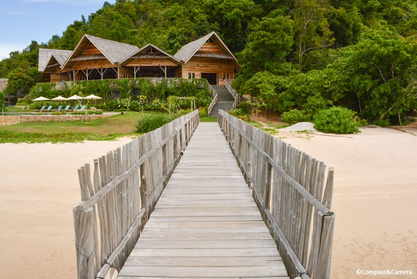 Telunas Private Island
